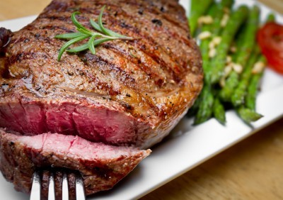 Image of Spice Rubbed Grilled Rib-Eye Steaks